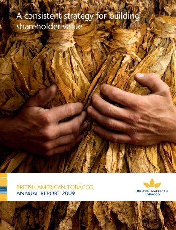 Annual Report 2009 - British American Tobacco