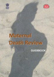 MATERNAL DEATH REVIEW - Health and Family Welfare Department