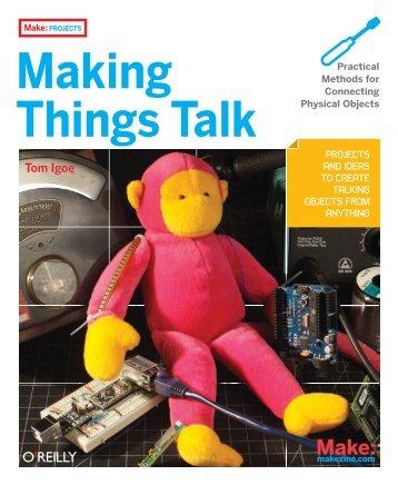 Making Things Talk - Hangar