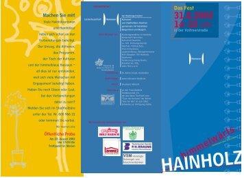 Flyer als PDF - Hainholz