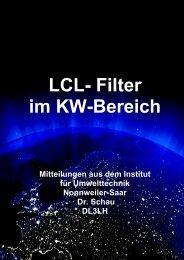LCL Filter Berechnung - HAM-On-Air