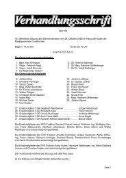 Gemeinderatssitzung vom 28. Oktober 2008 (194 KB ... - Gunskirchen