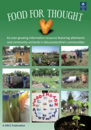 Food For Thought - Gloucestershire Rural Community Council