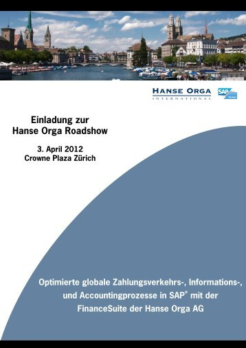 Flyer_Roadshow Zürich_03.04.12.indd - Hanse Orga AG
