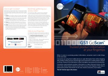 Trusted product information at your fingertips - GS1 Australia