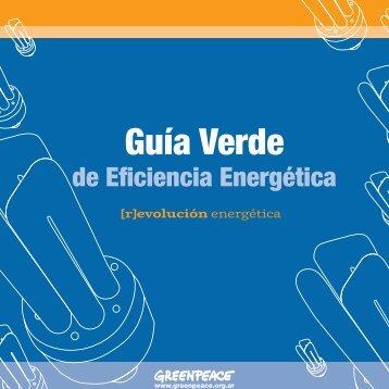 Guía verde de eficiencia energética - Greenpeace