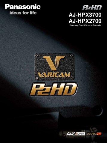AJ-HPX3700 AJ-HPX2700 - Hannu Pro