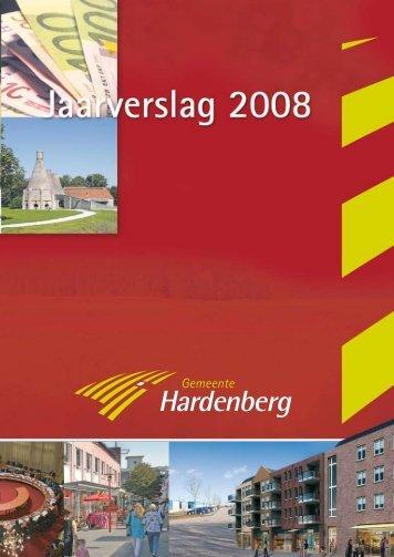 Jaarverslag 2008 - Gemeente Hardenberg