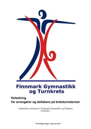 Kokebok stevne - Finnmark - Norges gymnastikk og turnforbund
