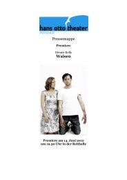 Pressemappe Waisen - Hans Otto Theater