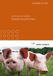 Innovationen & Neuheiten - Ausgabe I-2010 - Hardy Schmitz Shop