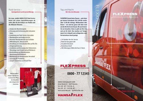FLEX XPRESS - Hansa Flex