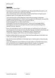 Vorstellung der Abteilungen - Gratis Webserver