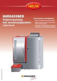 Pelletverwarming met vacuümzuigsysteem 70/80/100 ... - Hargassner