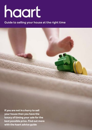 Guide to selling your house at the right time - Haart