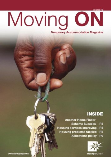 Moving On - October 2010 - Haringey Council