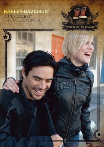 MOTORCLOTHES® CORE COLLECTION 2011 - Harley-Davidson