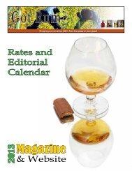 2013 Editorial Calendar for - Got Rum?