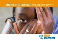 BREAK THE SILENCE Prevent sexual exploitation ... - Child Trafficking