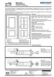 4.1 Wohnraumtür HGM Modell Baron - Grauthoff