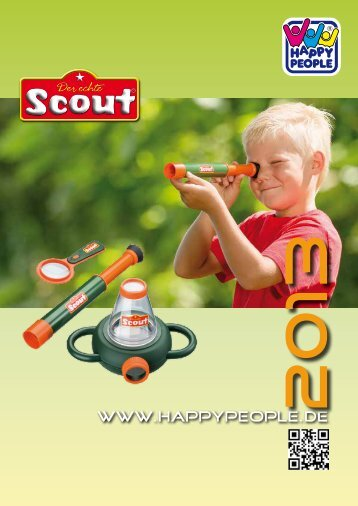 Happy People Scout 2013 - Happy People GmbH & Co. KG