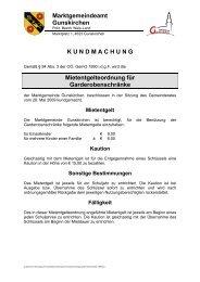 Mietengelt Garderobenschränke (186 KB) - .PDF - Gunskirchen