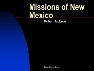 Missions of New Mexico - H-Net