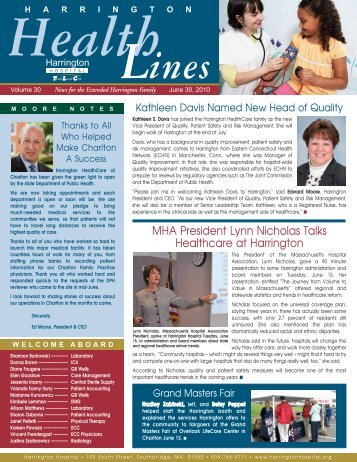 HHS news_06_10-v2 - Harrington Memorial Hospital