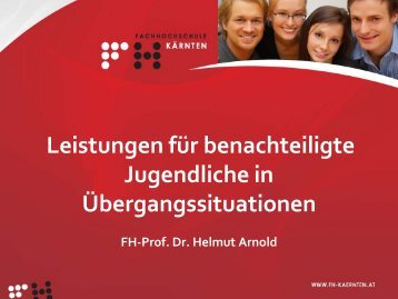 Vortrag Dr. Helmut Arnold - Gsi-consult.de