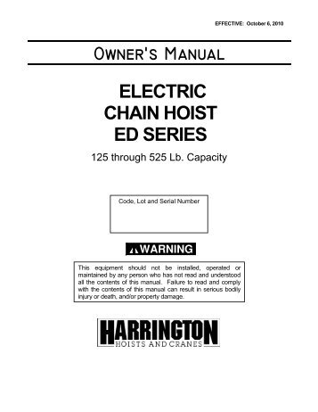 owners manual harrington hoists and cranes?quality\=85 harrington hoist wiring diagram karr wiring diagram \u2022 free wiring Electric Hoist at couponss.co