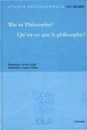 Was ist Philosophie? - Harry Lehmann