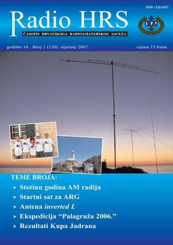 Radio HRS 1/07 - Hrvatski Radioamaterski Savez