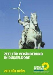 ZeIT fÜr VerÄnderung In dÜsseldorf. - Bündnis 90/Die Grünen ...