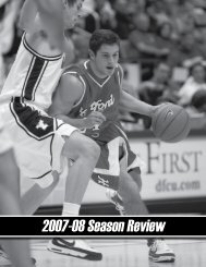 2007-08 Season Review - Hartford Hawks