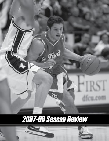 2007-08 Season Review - Hartford Hawks
