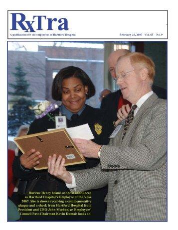 Rxtra - February, 2007 - Hartford Hospital!
