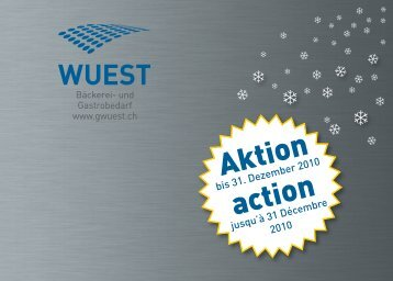 Aktion action - Wuest Bäckerei