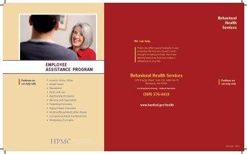 Behavioral Health Services Brochure