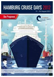 Das Programm - Hamburg Cruise Days