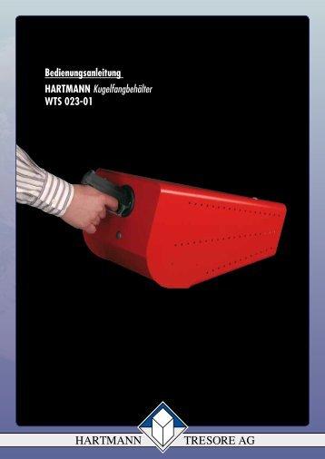Bedienungsanleitung HARTMANN ... - Hartmann Tresore