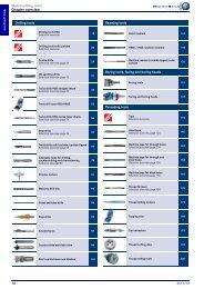 HAHN+KOLB-Toolcatalog 2011/12 – Metal Cutting Tools