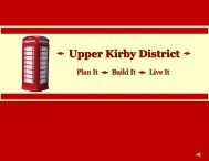 The Upper Kirby District - Houston-Galveston Area Council