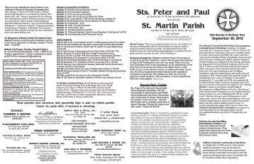 Bulletin September 30 2012