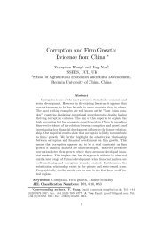 Corruption and Firm Growth: Evidence from China