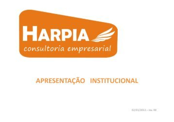 Harpia - Institucional - rev.00 - HARPIA Consultoria Empresarial