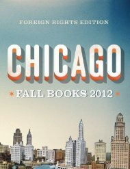 Fall 2012 foreign rights catalog - University of Chicago Press