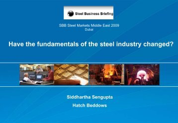 Have the fundamentals of the steel industry changed? - Hatch