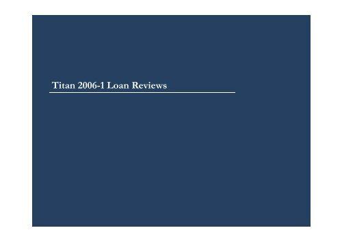 Presentation - Titan Europe 2006-1 Noteholder ... - Hatfield Philips