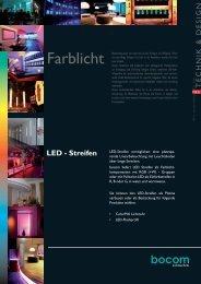 T E C H N IK & D E S IG N LED - Streifen