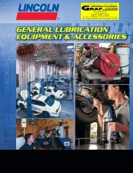 GENERAL LUBRICATION EQUIPMENT & ACCESSORIES ...